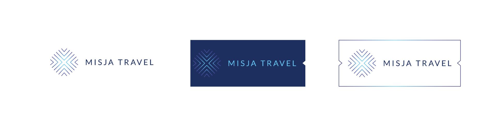 Travel agency logo options