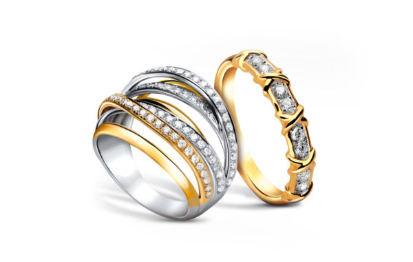 Two daimond rings