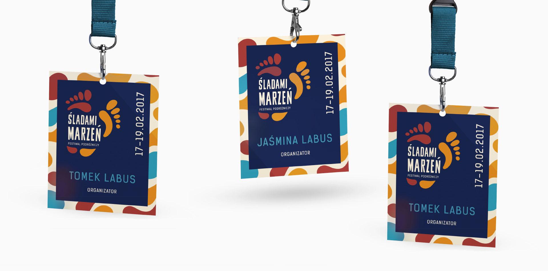 ID cards for people envolve in Festiwal Sladami Marzen