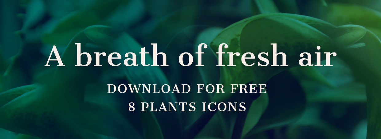 Download free plants icons by Hej Ho