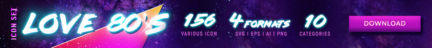 Download 80's icons